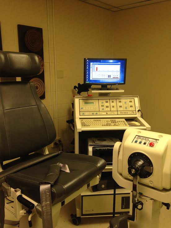BIODEX SYSTEM 3 #830-200 SINGLE CHAIR ISOKINETIC SYSTEM