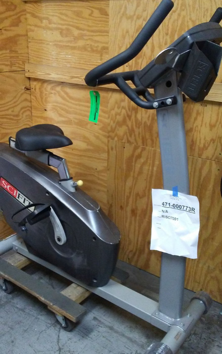 SCIFIT ISO7000 UPRIGHT BIKE (REFURBISHED)