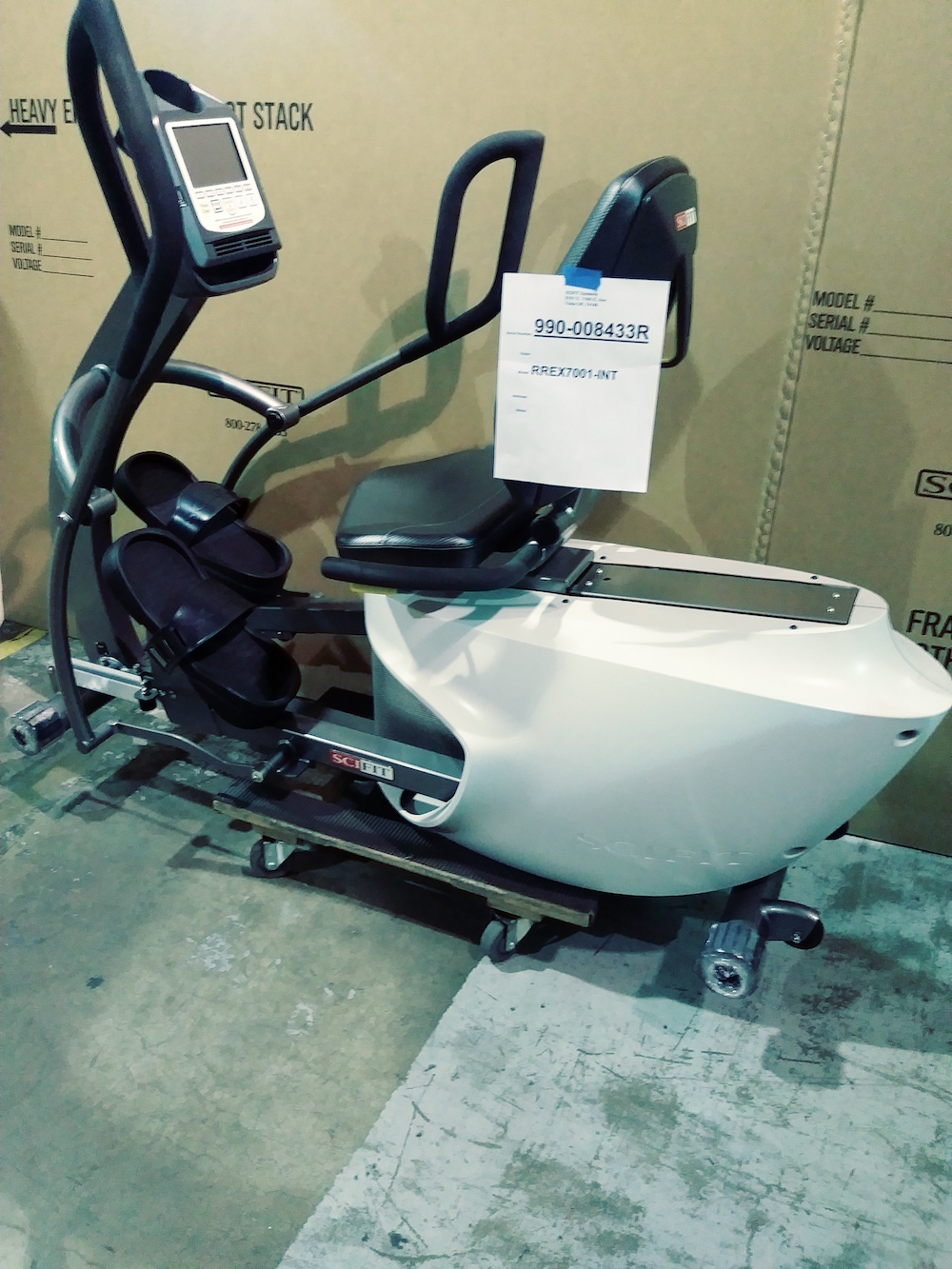 SCIFIT REX 7000 TOTAL BODY ELLIPTICAL (REFURBISHED)